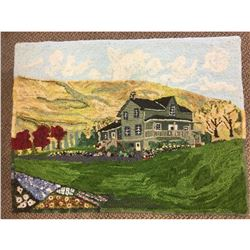 Tone The Bone Original Hand Hooked Original Country House Hooked Rug