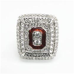 2017 Ohio State Buckeyes NCAA Football Big Ten Championship Ring - Urban Meyer