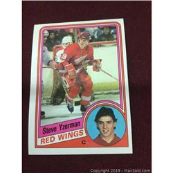 1984 Vintage Steve Yzerman Rookie Card