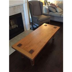 "Arts & Crafts Coffee Table 4'11""L 1'11 x 1/2""W x 1'5""H"