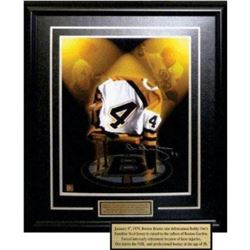 Bobby Orr Limited Edition Autograph SP Fabulous Retirement Piece