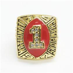 1997 Nebraska Cornhuskers NCAA National Championship Ring - Frankie London