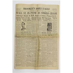 BROOKLYN DAILY EAGLE OCT. 24 1929