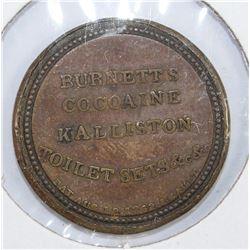 10 CENTS BURNETTS COCAINE KALLISTON GREEN STAMP