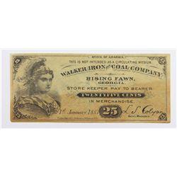 1883 TWENTY FIVE CENT