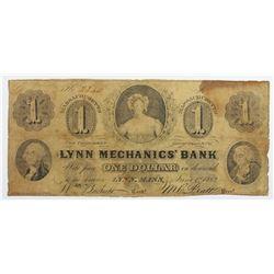 1862 LYNN MECHANICS BANK
