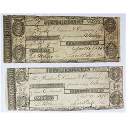 (2) PIECE 1808 HILLSBORO BANK
