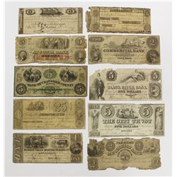 LOT OF 10 DIFFERENT SCARCE OBSOLETE 1806-1859