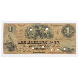 $1 GIKYIJE VABJ 1862 MASSACHUSETTS