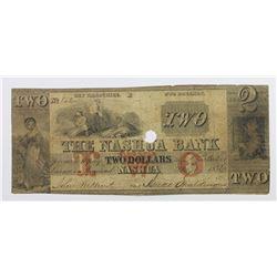 $2 NASHUA BANK 1856 SENC.