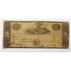 1822 $3 ROMAN COIN