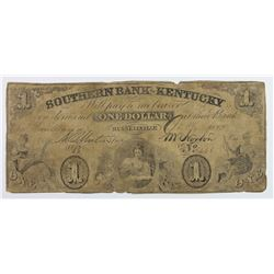 SOUTHERN BANK OF KENTUCKY $2 1858