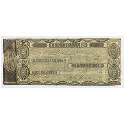 VERY SCARCE GLOUCESTER BANK $10 MASS.