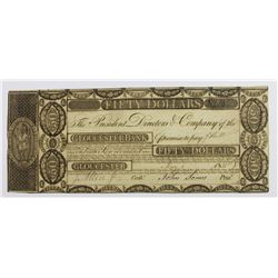VERY SCARCE GLOUCESTER BANK $50