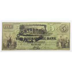 1857 THE HOUSATONIC BANK