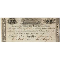 1814 FARMERS BANK $3