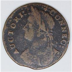 1787 CONN. CENT M17-G3 R4