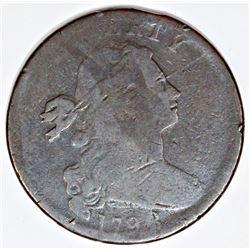 1798 S 167 WHISKER VARIETY VG