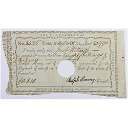 1790 80 SHILLINGS