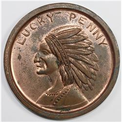 OVERSIZED COPPER LUCKY PENNY