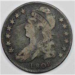 1808 BUST HALF DOLLAR