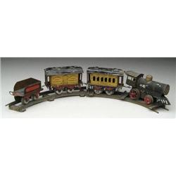 IVES FOUR PIECE TRAIN SET