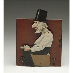 MAN DRINKING CLOCKWORK TOY