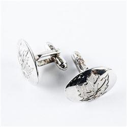 Estate 925 Silver Cuff Links