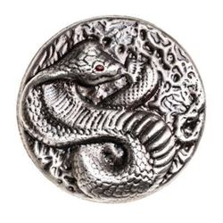 .999 Fine Silver 3oz Cobra - Hand Poured. Canada S