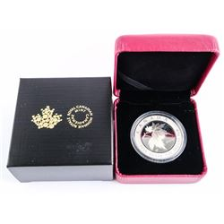 2005 $5.00 Maple Leaf of Hope - .999 Fine Silver 1