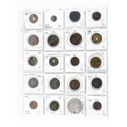 Grouping (20) World Coins: Italy, China, Austria,F