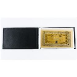24kt Gold Leaf Note Collection in Folio ITALY - Li