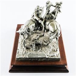CHILMARK By Don Polland, Sculpture Fine Pewter 'Th