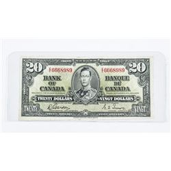 Bank of Canada 1937 20.00 G/T