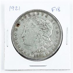1921 USA Morgan Dollar (F18)