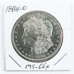 1884-(O) USA Morgan Dollar MS-66x (EMR)