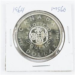 1964 CAD Silver Dollar MS60