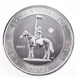 1920-2020 .9999 Fine Silver $10.00 Coin 'King Geor