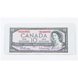 Bank of Canada 1954 10.00 Modified Portrait * Repl