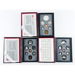 Group (3) RCM Proof Sets: 1987, 1988, 1989