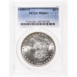 Rare - USA $1 1884-O PCGS MS-66+
