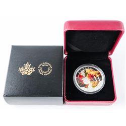 2015 - $20 Autumn Express .9999 Fine Silver.ξ(SXR