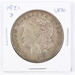 1921(D) US Morgan Dollar. VF20