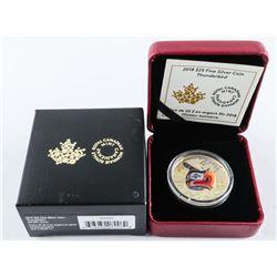 2018 .9999 Fine Silver $25.00 Coin 'Thunderbird' w