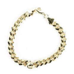 18kt Gold Plated over Stainless Bracelet