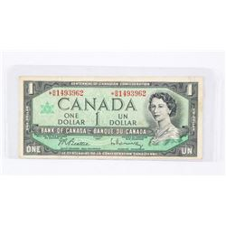 Bank of Canada 1967 1.00 *Replacement (BM) B/R