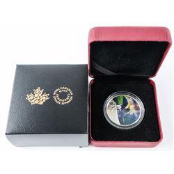 1/2oz Silver Coloured Coin - Celebrating Canada's