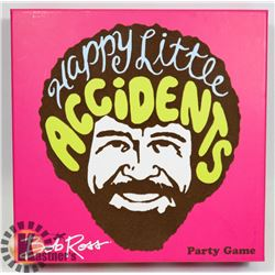 NEW BOB ROSS HAPPY LITTLE ACCIDENTS PARTY GAME