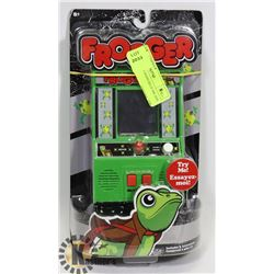 NEW FROGGER HAND HELD ARCADE GAME