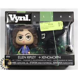 VINYL ALIEN ELLEN RIPLEY & XENOMORPH